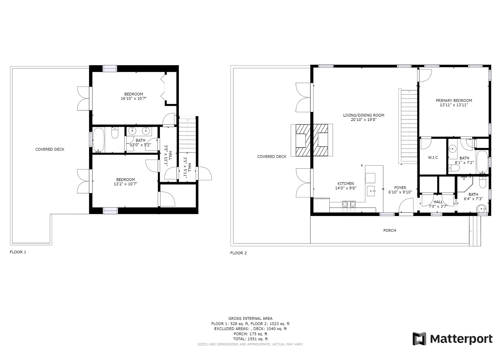 Floor Plan for *WALK TO TOWN* Hummingbird Hill is a Easy walk to Main Street and to Harris Lake to feed the ducks!