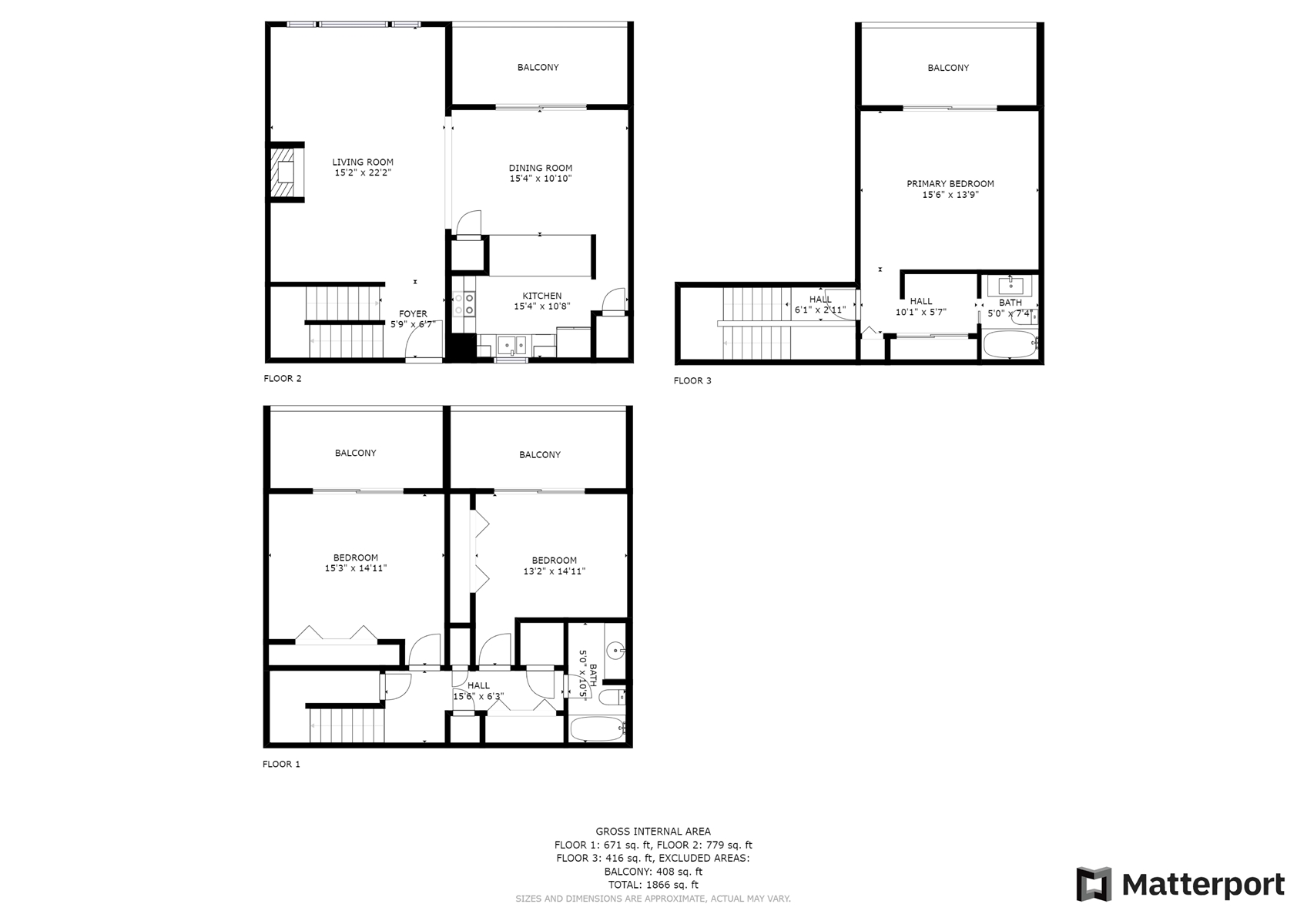 Floor Plan for *LONG RANGE VIEWS*  Panoramic mountain vistas from every level