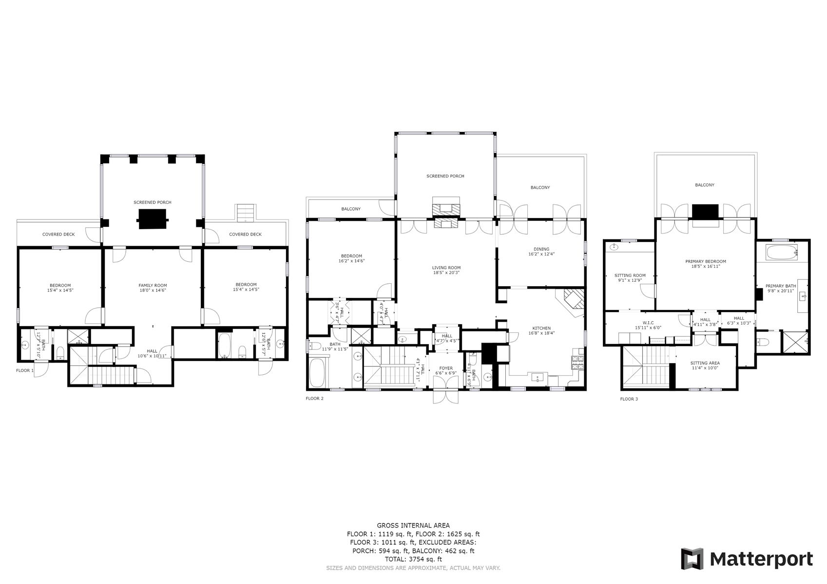 Floor Plan for *Historic Mirror Lake District* Custom French Country Home